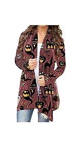 Halloween cardigan