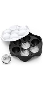 7-ball ice cube tray