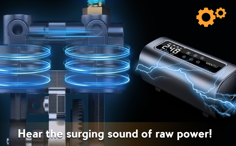Listen to its surging sound, how powerful is the power! How fast is the energy conversion!