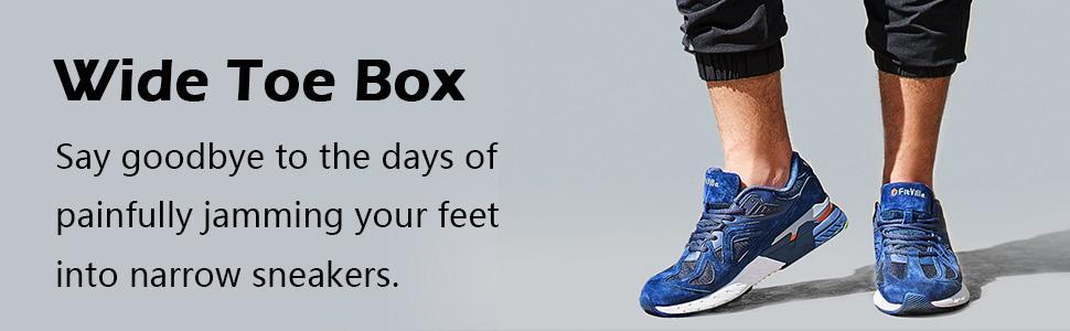 Wide Toe Box Shoes