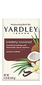 Yardley London Creamy Coconut Bar Soap