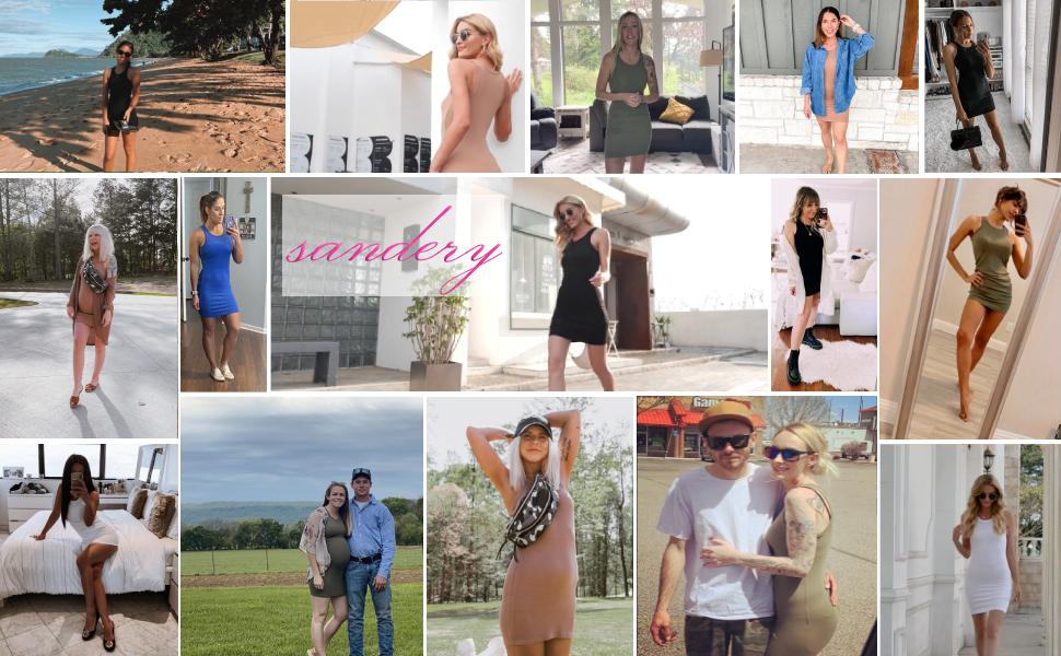 sandery summer dresses for women
