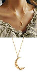 cresent necklace