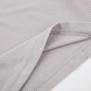 Womens Button Down Ribbed Henley Shirts