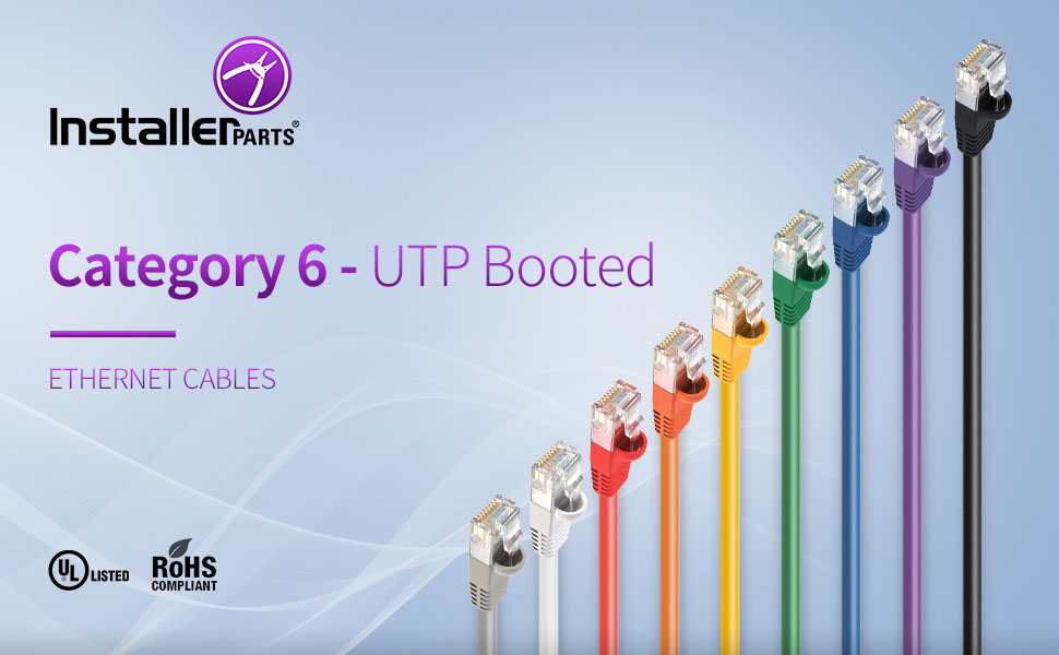 Cat 6 UTP BOOTED VARIOUS COLOR VARIOUS LENGTH HIGH SPEED