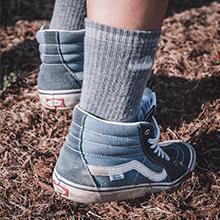 2 XPAIRS of Blacks Walking socks size S 3-5 MULTI ACTIVITY SOCK hiking treking M