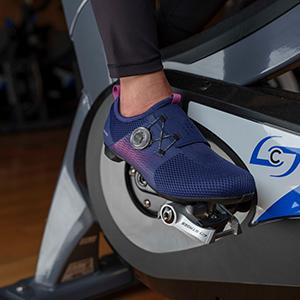 Shimano Indoor Cycling IC500 Purple Spin shoe