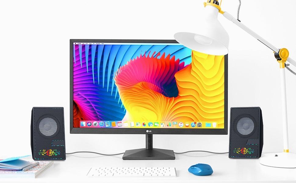 computer speakers with desktop computers