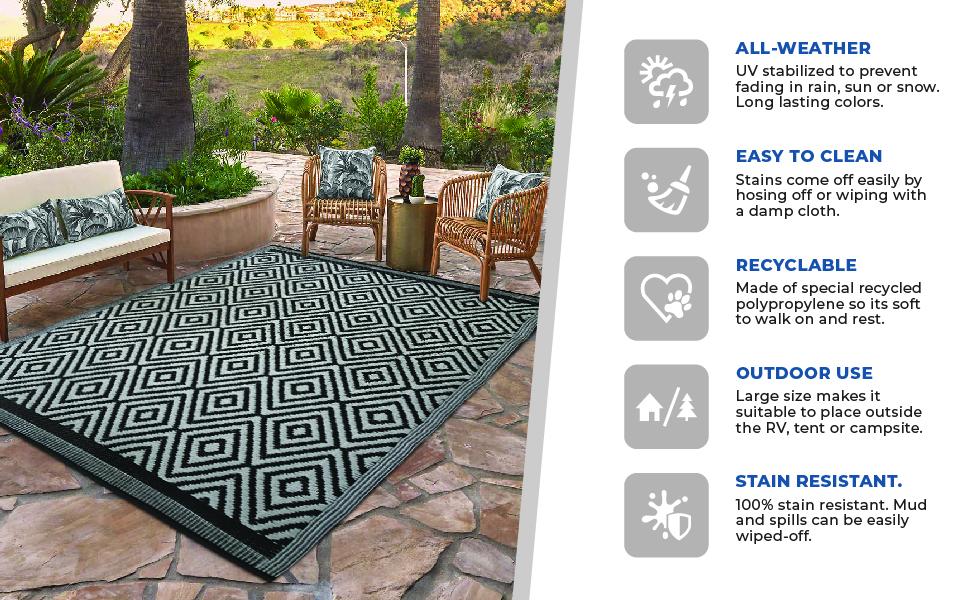 outdoor rv rug