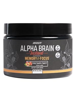 Onnit Alpha Brain Instant Tub