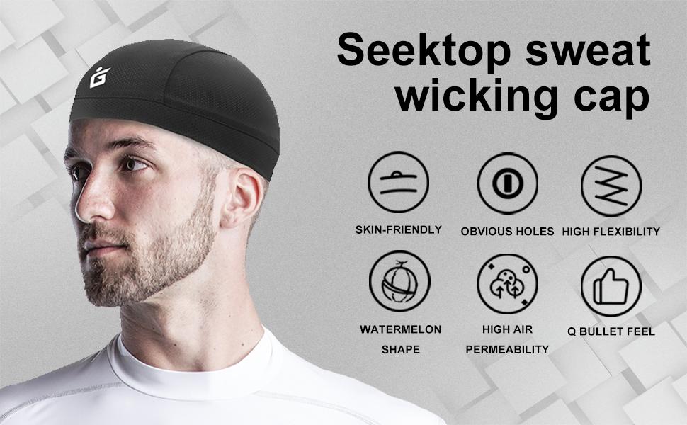 Seektop skull caps