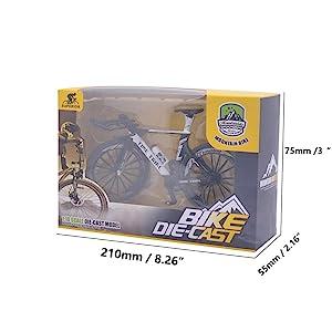 Mini Toy Bicycle Decoration Mountain Bike Toys Mini Mountain Bike Toy Model Model Bicycle