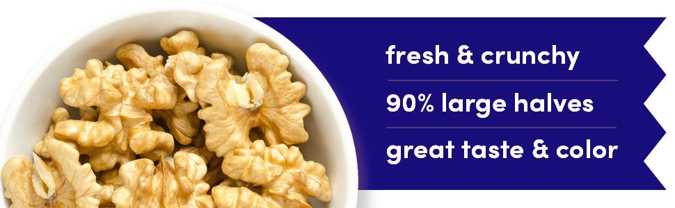 Kashmiri 250 GM Premium Fresh Walnut Kernels Walnuts without Shell Akhrot Giri