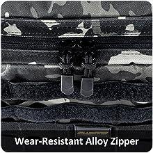 Wear-resistant Alloy Zipper
