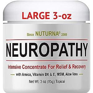 neuropathy pain nerve cream relief