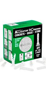 13101 TOGGLER Alligator Anchor AF6 - 100 Pack