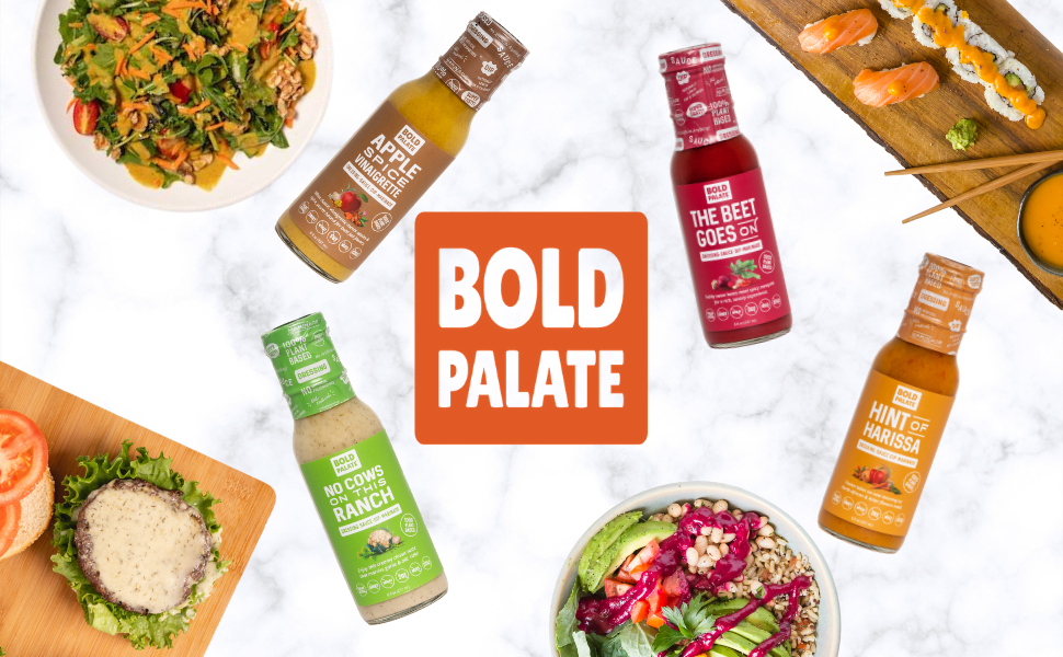 the product range of Bold Palate
