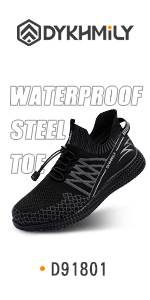 waterproof steel toe shoes