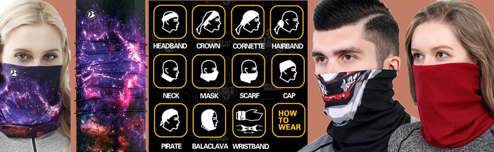 Multi use of headband