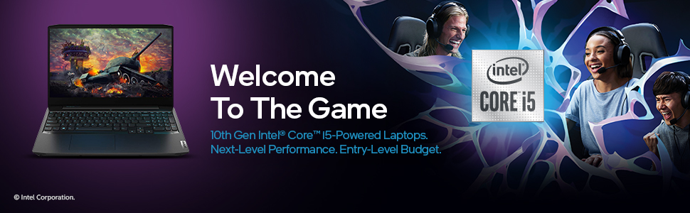 Lenovo IdeaPad Gaming 3 Intel Core i5 10th Gen Welcome to the game