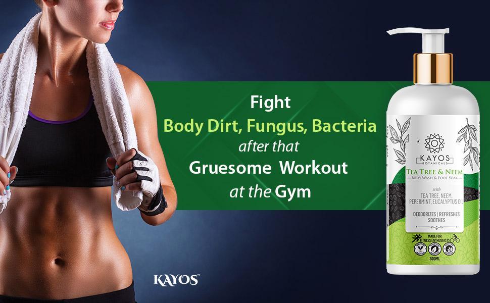 body wash for gym athletes
