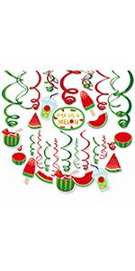 Watermelon Decorations