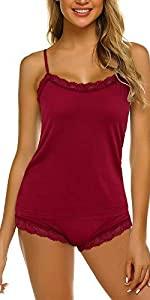 SchSchlafanzüge für Damen Kurz Nachthemdlafanzüge für Damen Kurz Pyjama Nachthemd Sommer Shorty