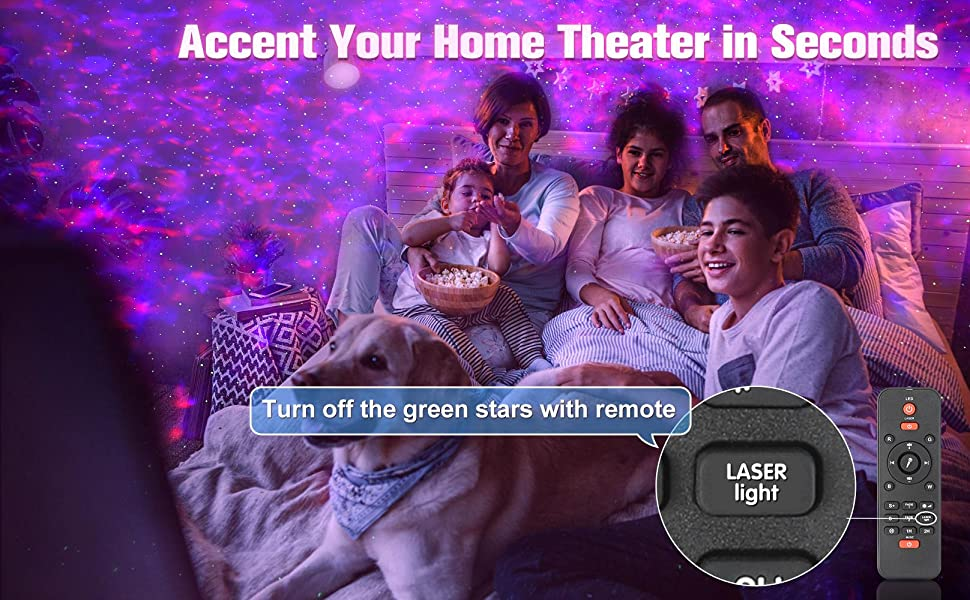 Accent Your Home Theater in Seconds
