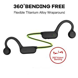 Half wrap-around style is more comfortable to wear, ear band fits for different head size