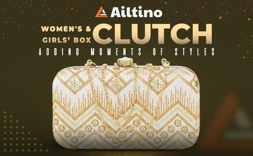 AILTINO Women and Girls Box Clutch SPN-FOR1