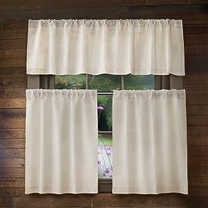 valance curtain set