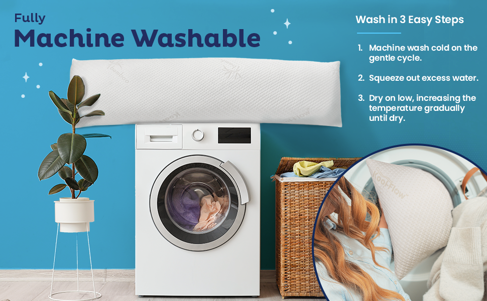 Fully Machine Washable