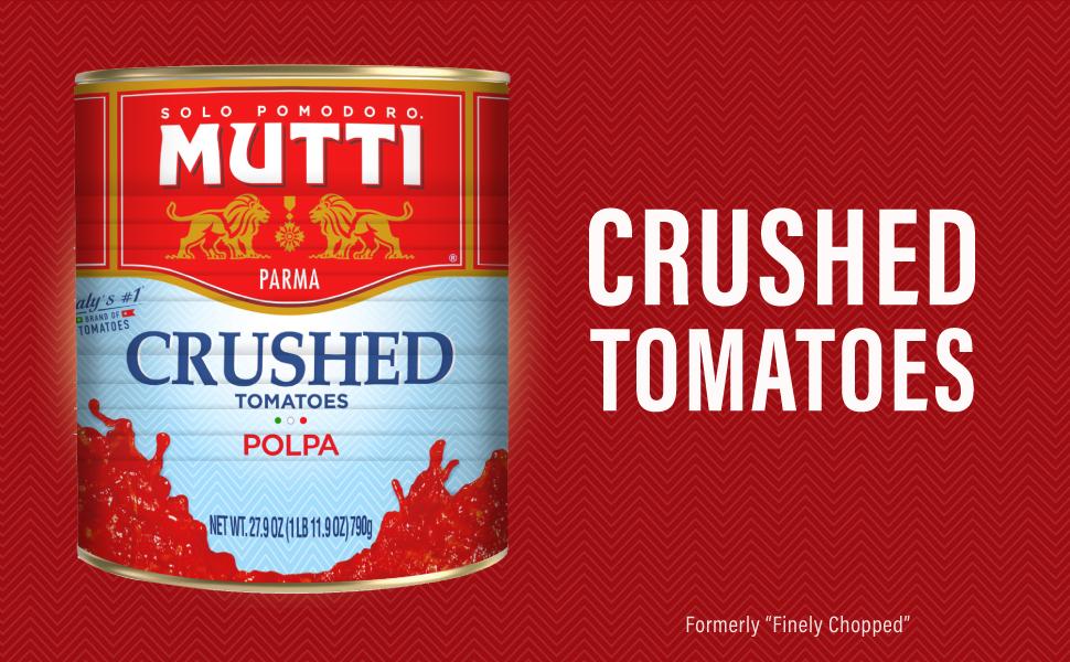mutti finely chopped tomatoes 27.9 oz