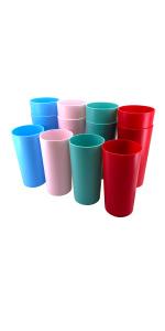 Multicolor Cups Drinking