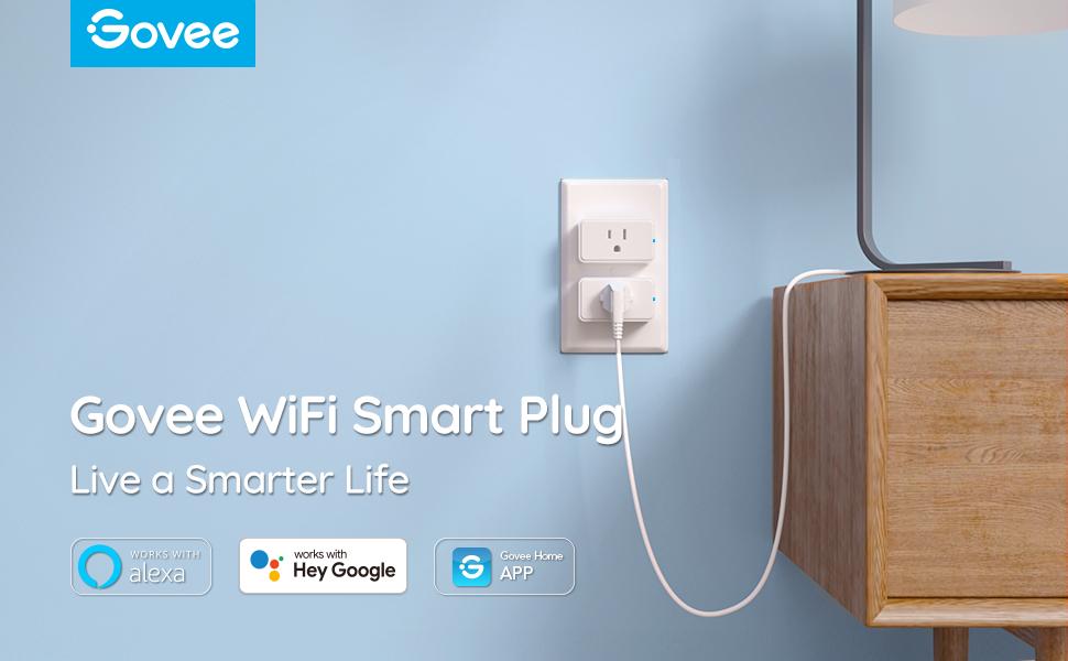 Govee WiFi Smart Plug Works with Alexa and Google Home Assistant