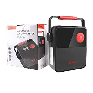 128ce7d7 2417 4a4b 8696 e2c48078d821. CR0,0,400,400 PT0 SX300 V1 - BYGD Air Compressor Tire Inflator, DC 12V Portable Tire Inflator for Car, Digital Tire Pump with Portable Handle and LED Light, Air Pump for Car Tires, Bicycle, Ball and Other Inflatables