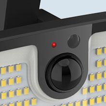 Onforu 2 Pack Solar Motion Sensor Light Outdoor