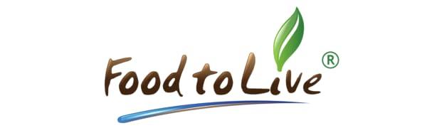 Food to Live Logo