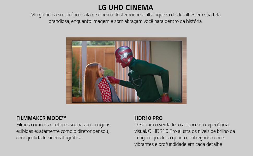 TV LG UP7550