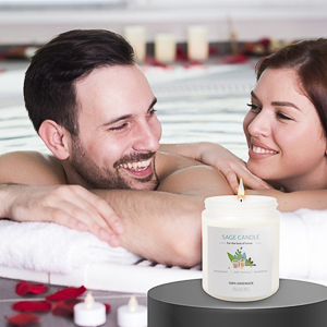 white sage candle