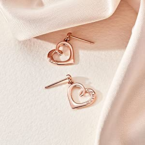Clogau Rose Gold Earrings
