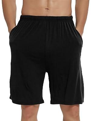 JINSHI Men's Lounge Shorts Pyjamas Bottoms