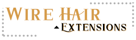 wire extensions human hair