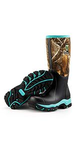 TIDEWE hunting boots for women