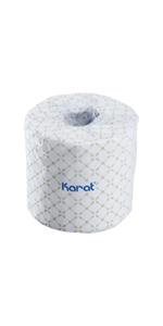 Karat Standard 2-ply Toilet Paper Rolls - 48 Rolls