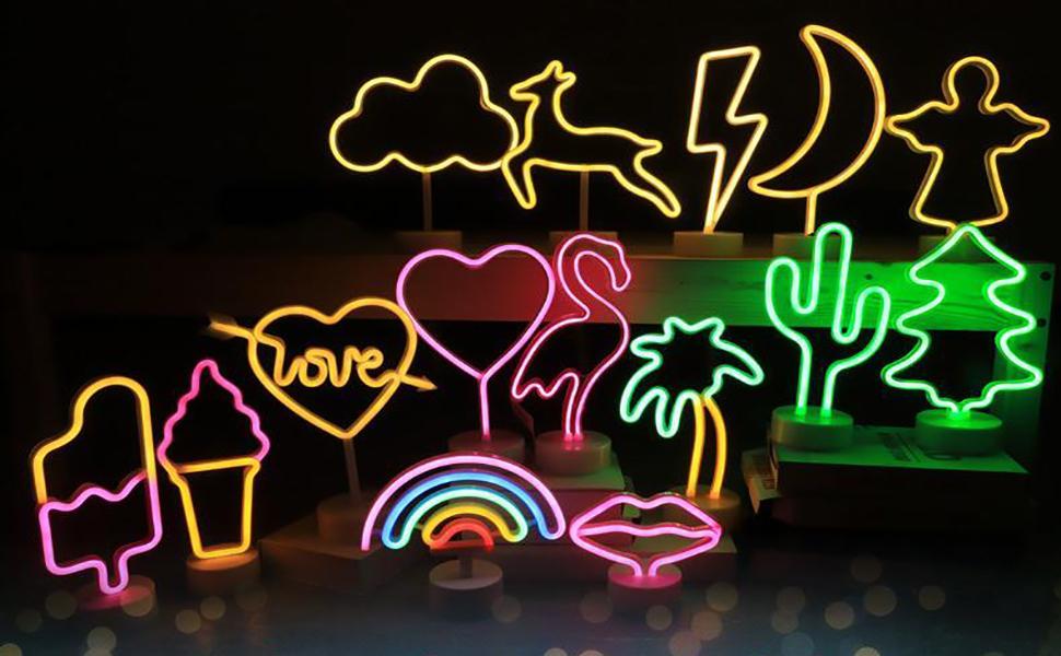 Neonlichtfigur