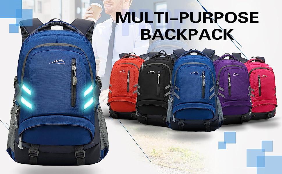 Greta Van Fleet Backpack Casual Daypack Student Book Bag Water-Resistant Travel Multipurpose Laptop Backpack For Men//Women