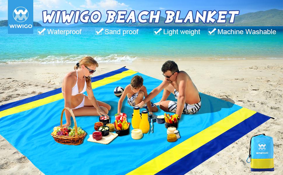 WIWIGO beach blanket
