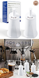 2 Pack Replacement Espresso Water Filter