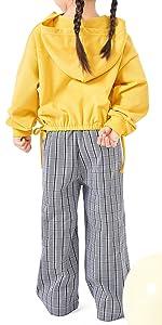 yellow hoodies for girls